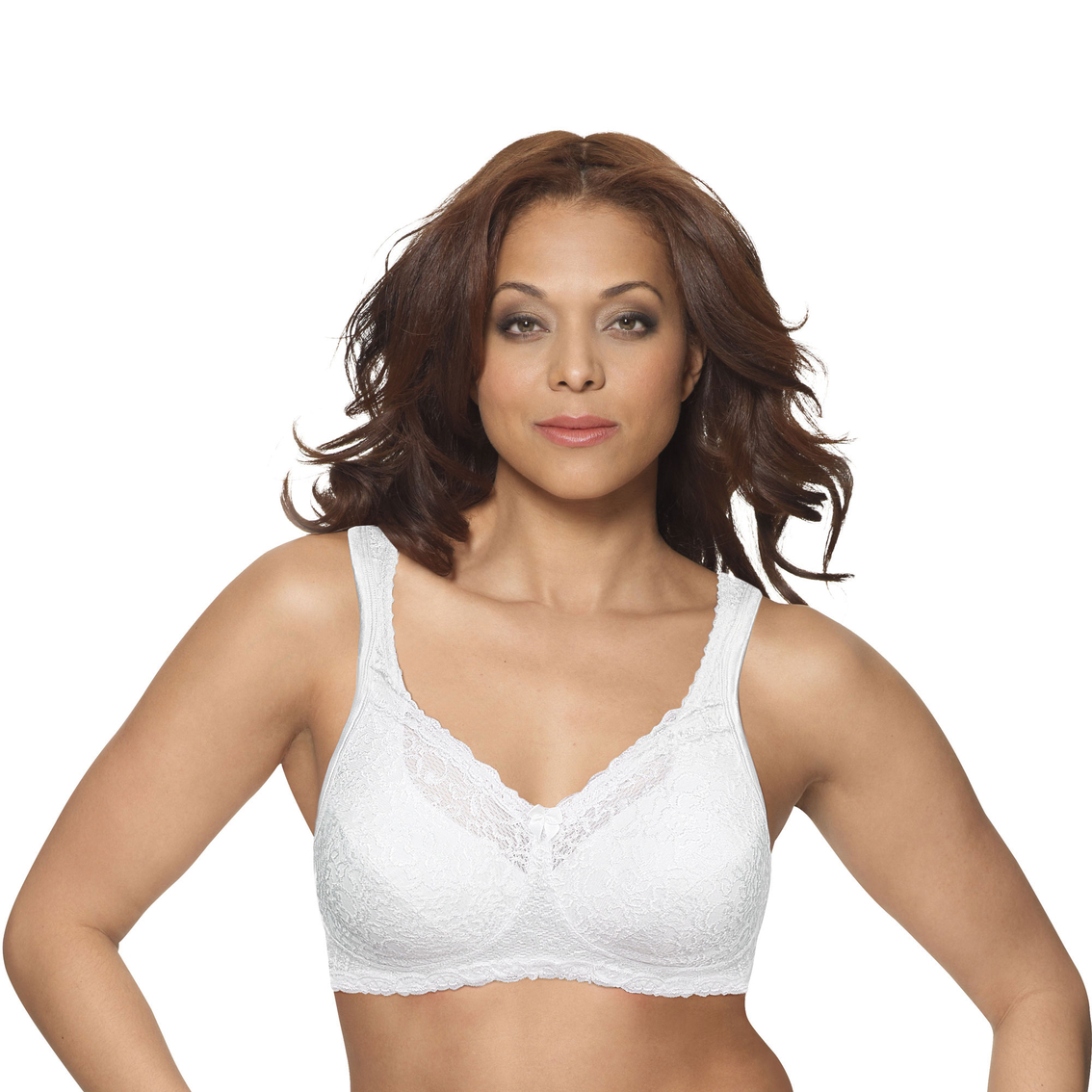 4569738216 Playtex Comfort Lace With Breathable Airform Wirefree Bra