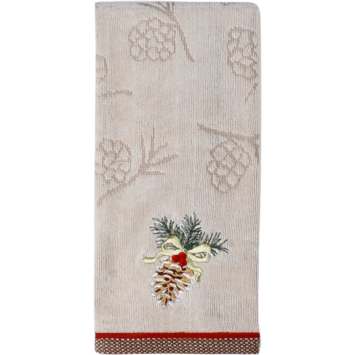 Pine Cone Hand Towels