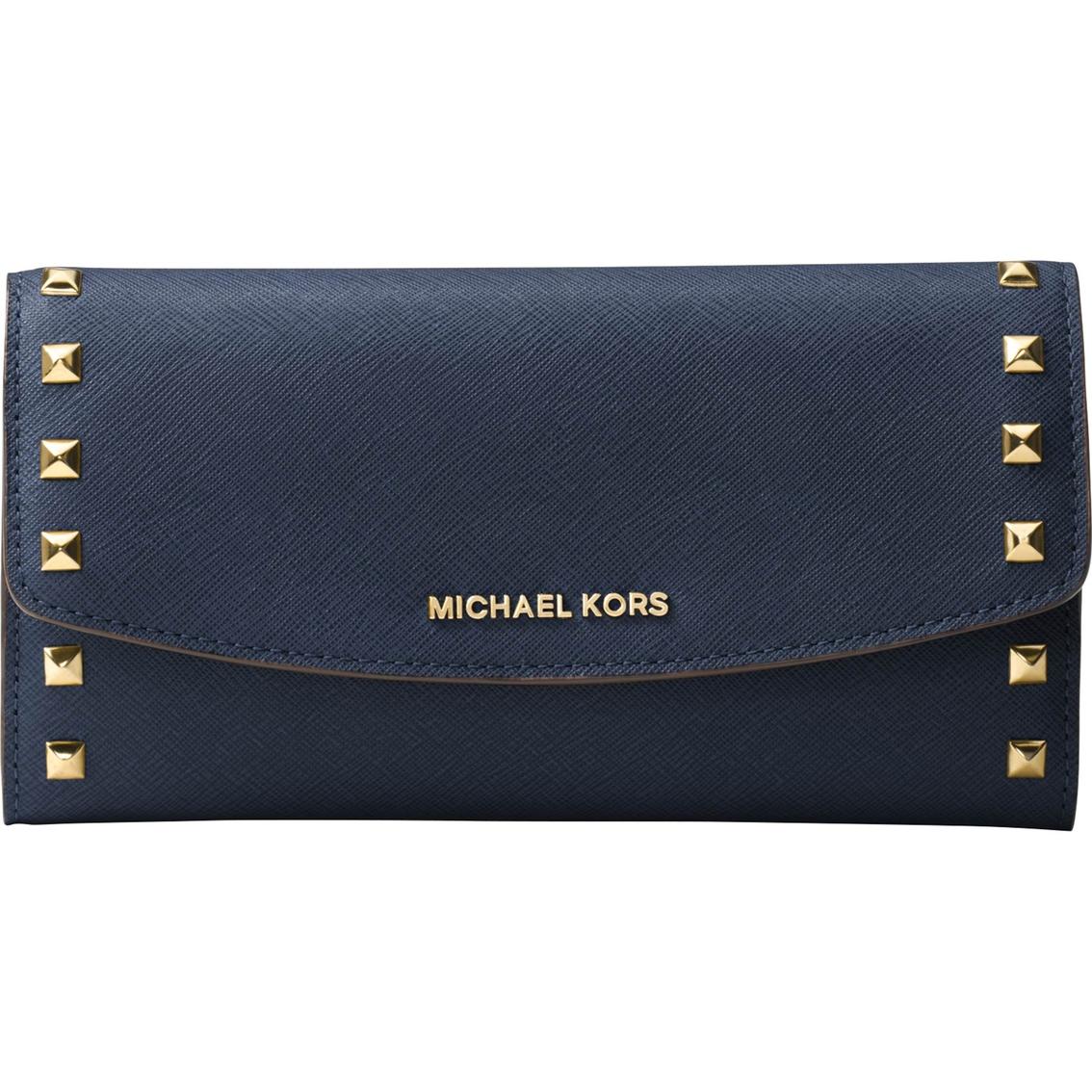 32519703c146 Michael Kors Ava Stud Large Trifold Wallet | Wallets | Handbags ...