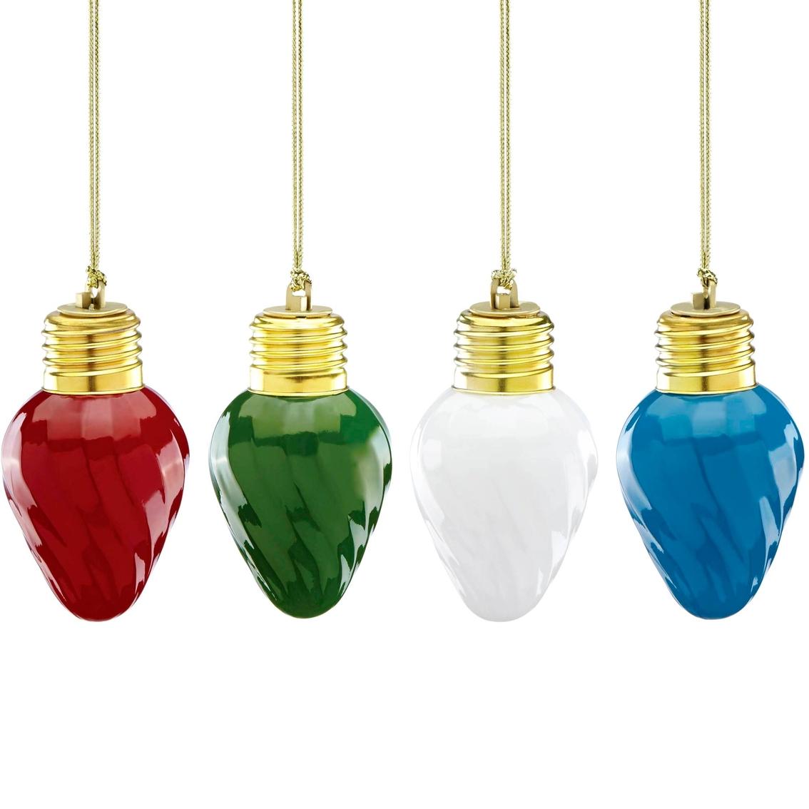 9afbb89f6fafa Lenox Mini Vintage 4 Pc. Glass Ornament Light Bulb Set