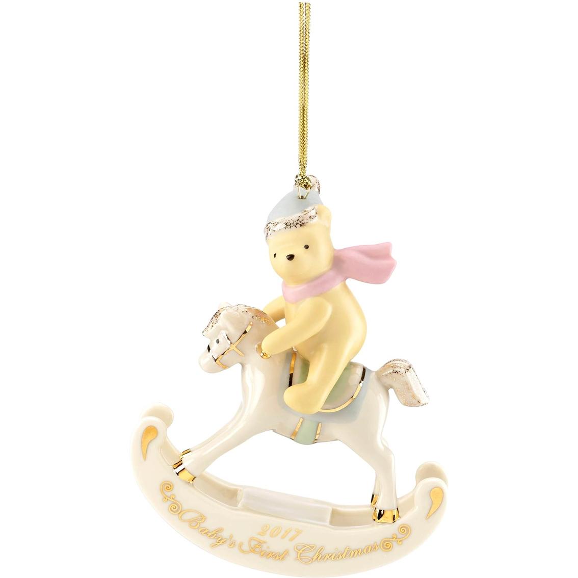 lenox 2017 disneys winnie the pooh babys first christmas ornament