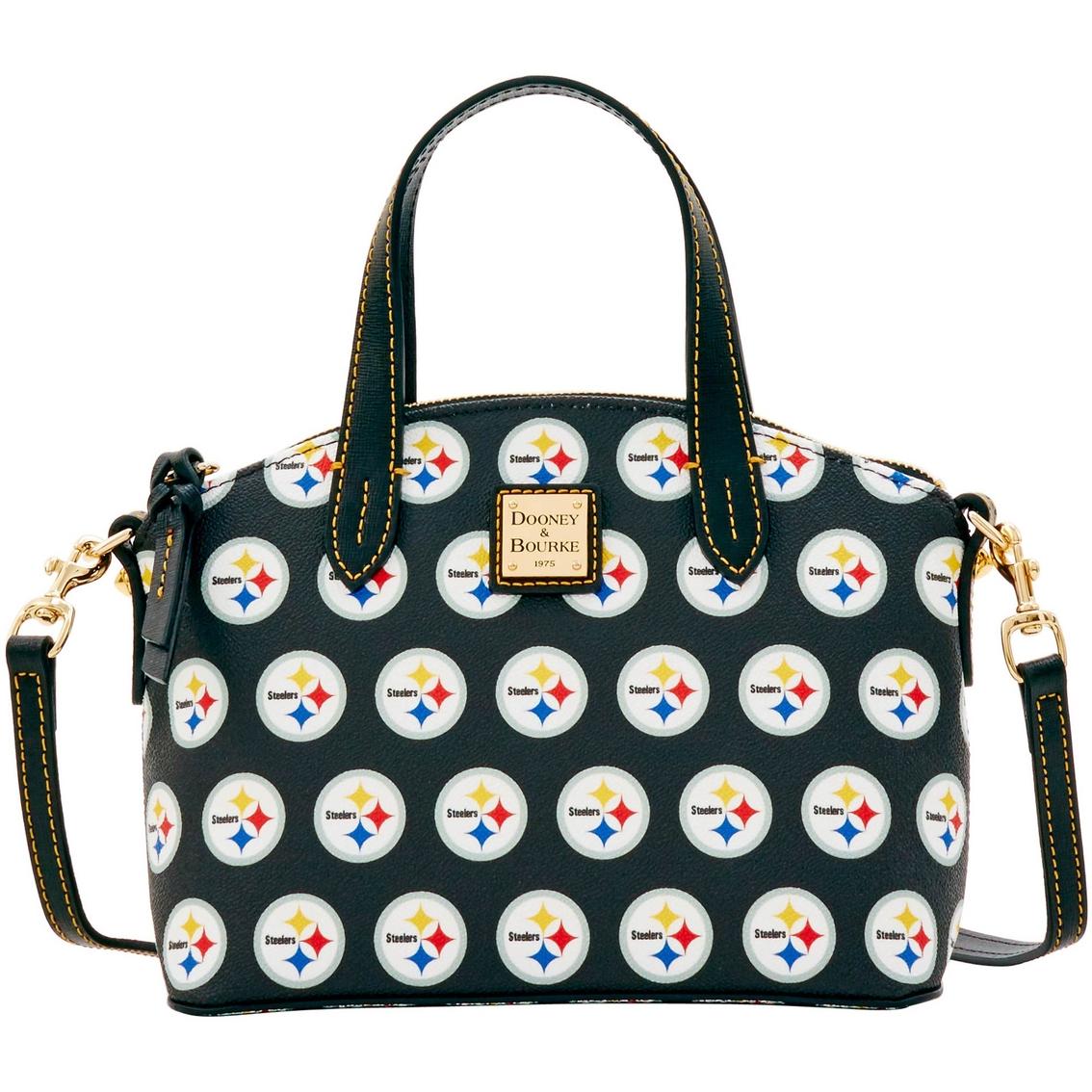 14072caecfc Dooney   Bourke Nfl Pittsburgh Steelers Ruby Bag