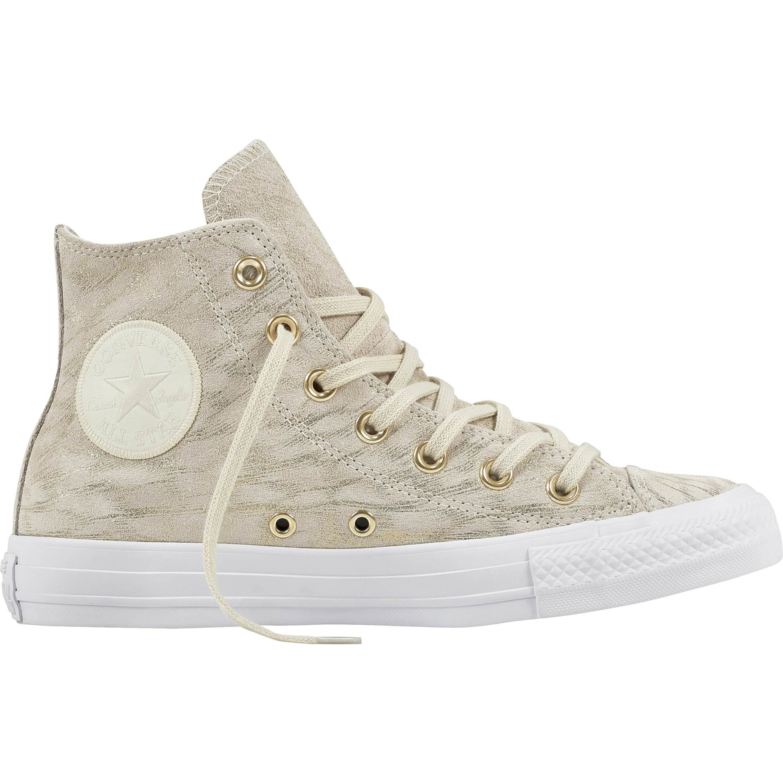 Converse Women s Chuck Taylor All Star High Top Shimmer Suede Sneakers 4a1a819936