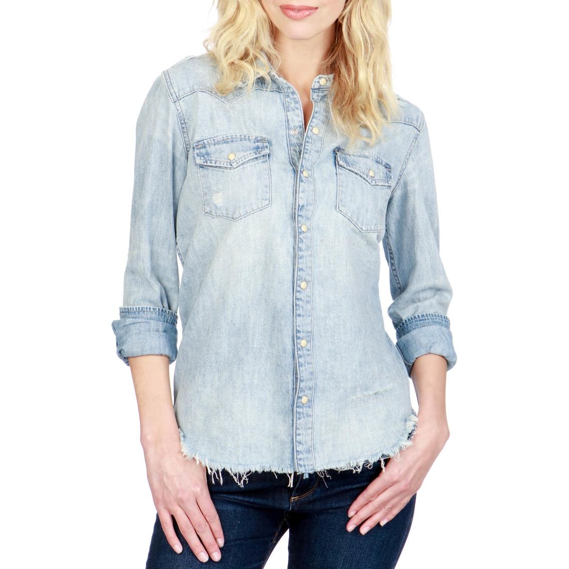 6739c067571e Lucky Brand Men Short Sleeve Santa Fe Western Shirt Red Blue Plaid Summer  8701072 KJYKEYP Source · Lucky Brand Classic Western Shirt Casual Shirts  Apparel ...