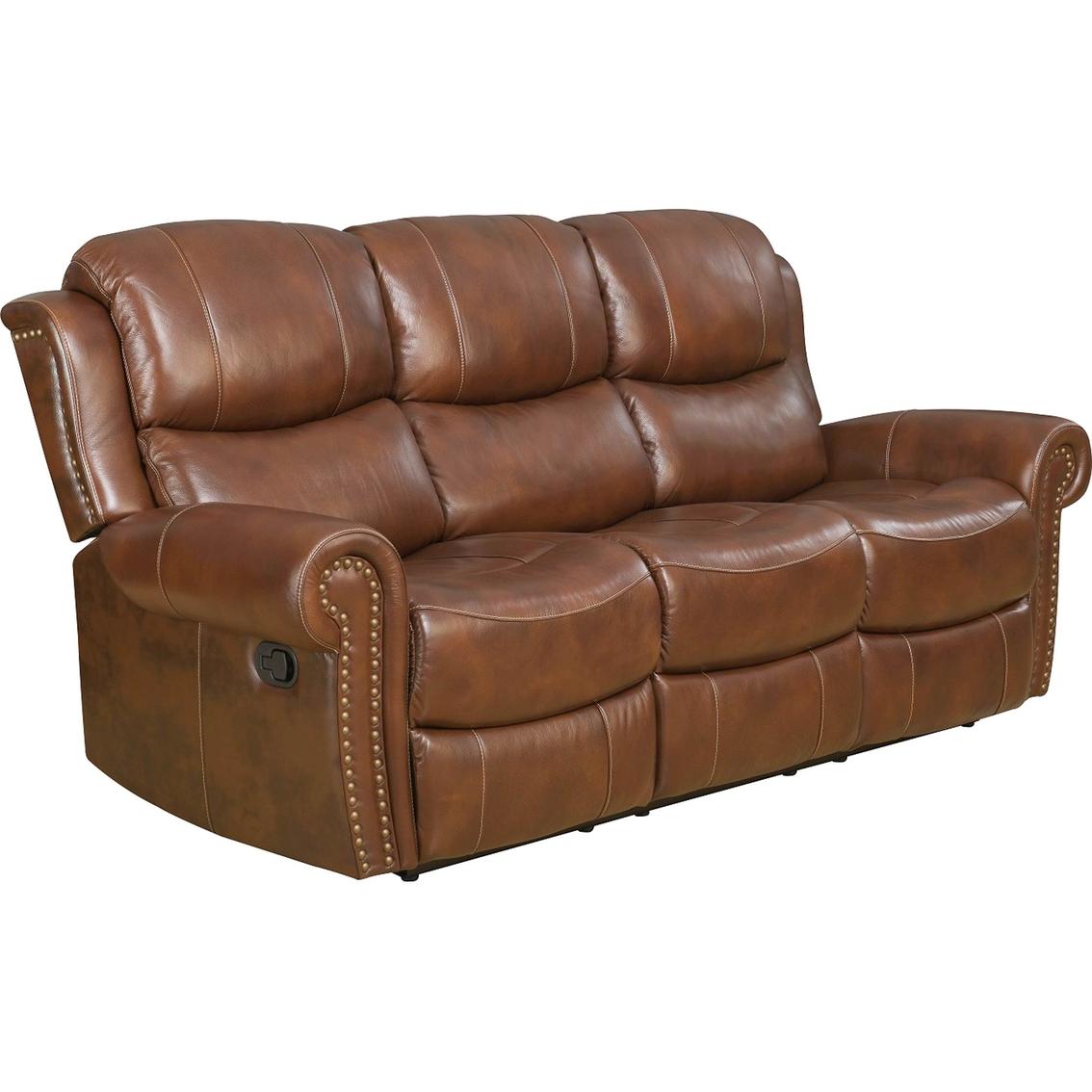 Klaussner Alomar Leather Power Reclining Sofa   Sofas ...