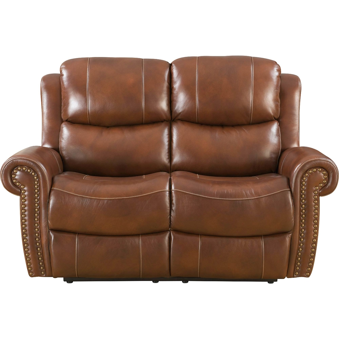Klaussner Leather Sofa Review: Klaussner Alomar Leather Reclining Loveseat