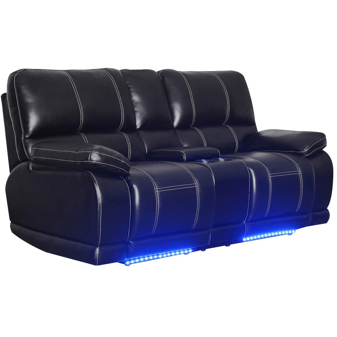 Wondrous Klaussner Electra Power Console Reclining Loveseat Sofas Forskolin Free Trial Chair Design Images Forskolin Free Trialorg