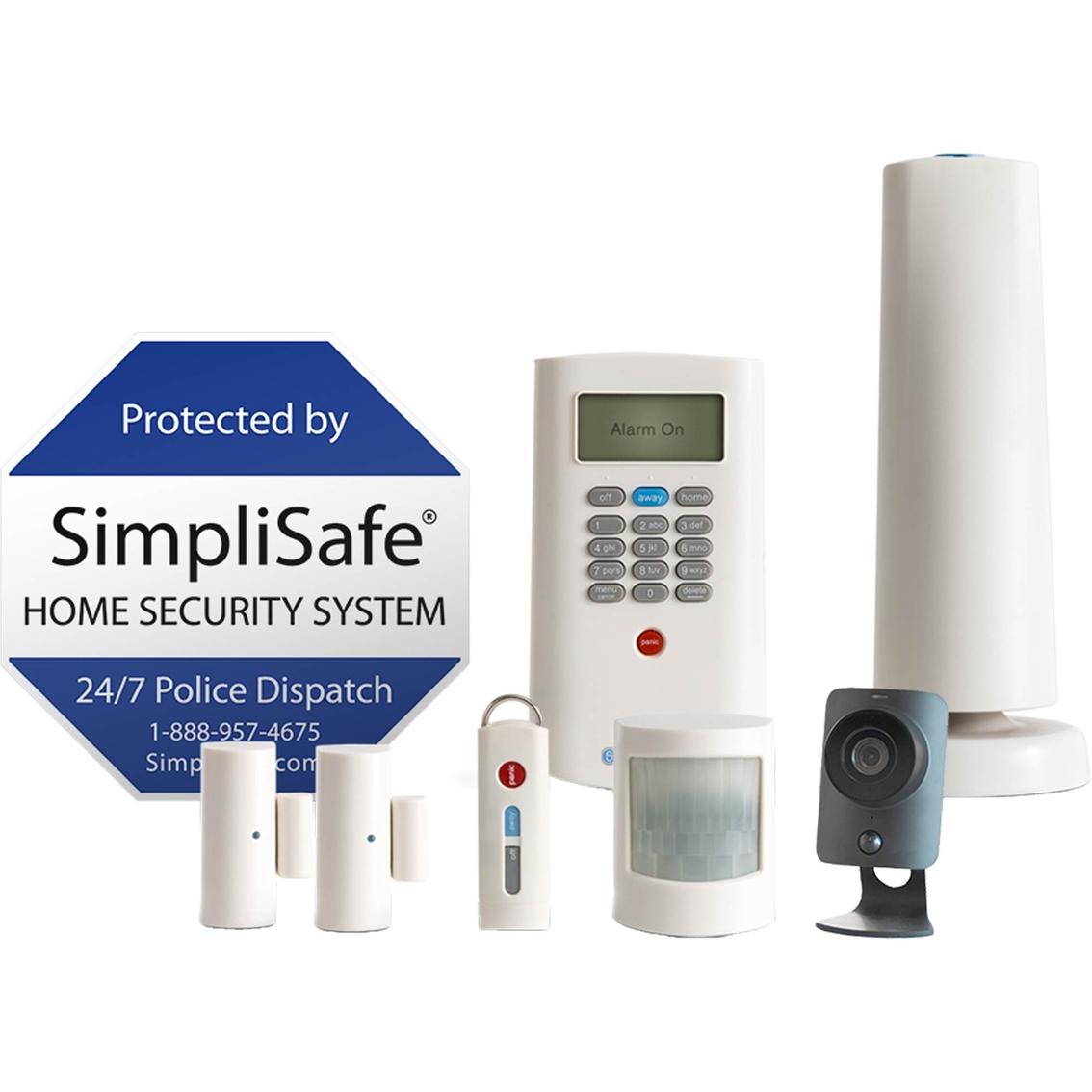 simplisafe home security kit - Simplisafe Home Security