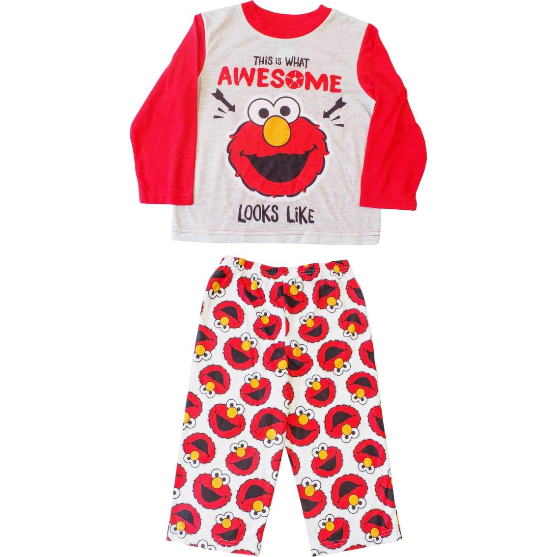 cbb0a4810f Sesame Street Toddler Boys Elmo 2 Pc. Pajama Set