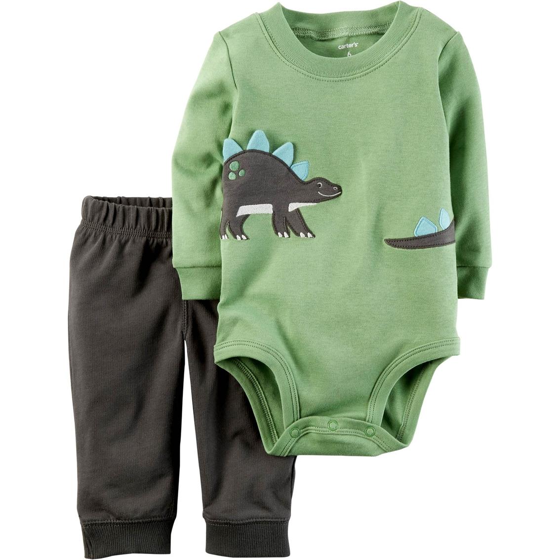 f889c3343 Carter s Infant Boys 2 Pc. Dino Pants Set