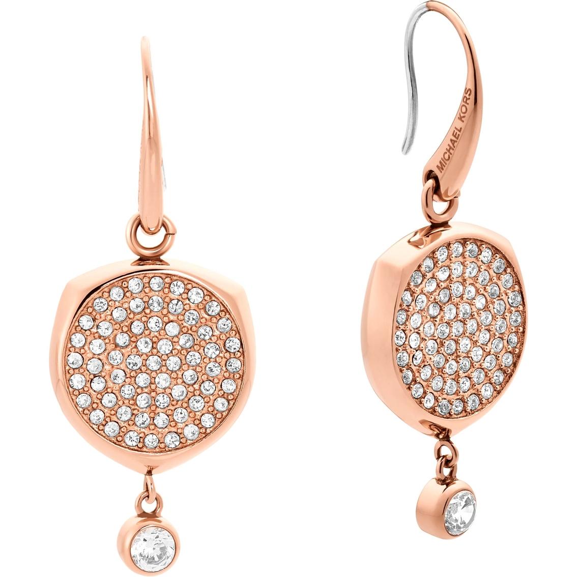 a1c88e5f2a09 Michael Kors Beyond Brilliant Rose Goldtone Earrings
