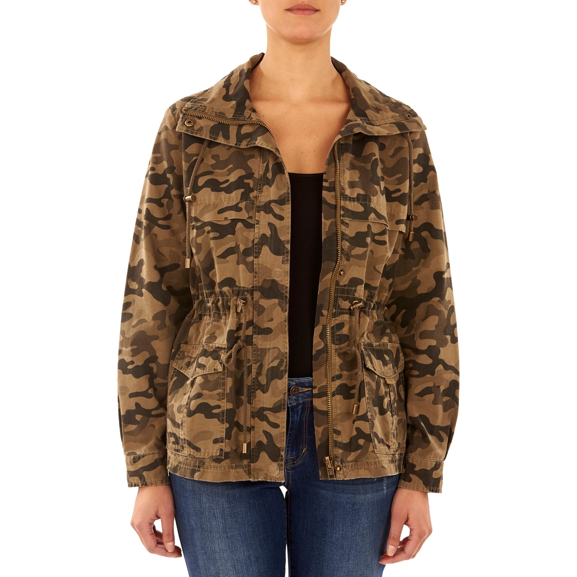 63757e4262c00 Kensie Jeans Printed Field Jacket | Jackets | Apparel | Shop The ...