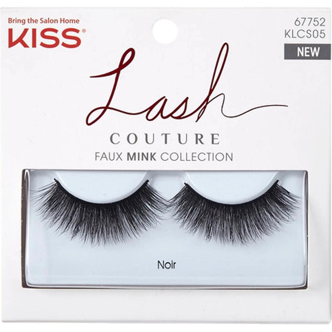 f271ff3d539 Kiss Lash Couture Mink Collection, Noir   Lash Treatment   Beauty ...