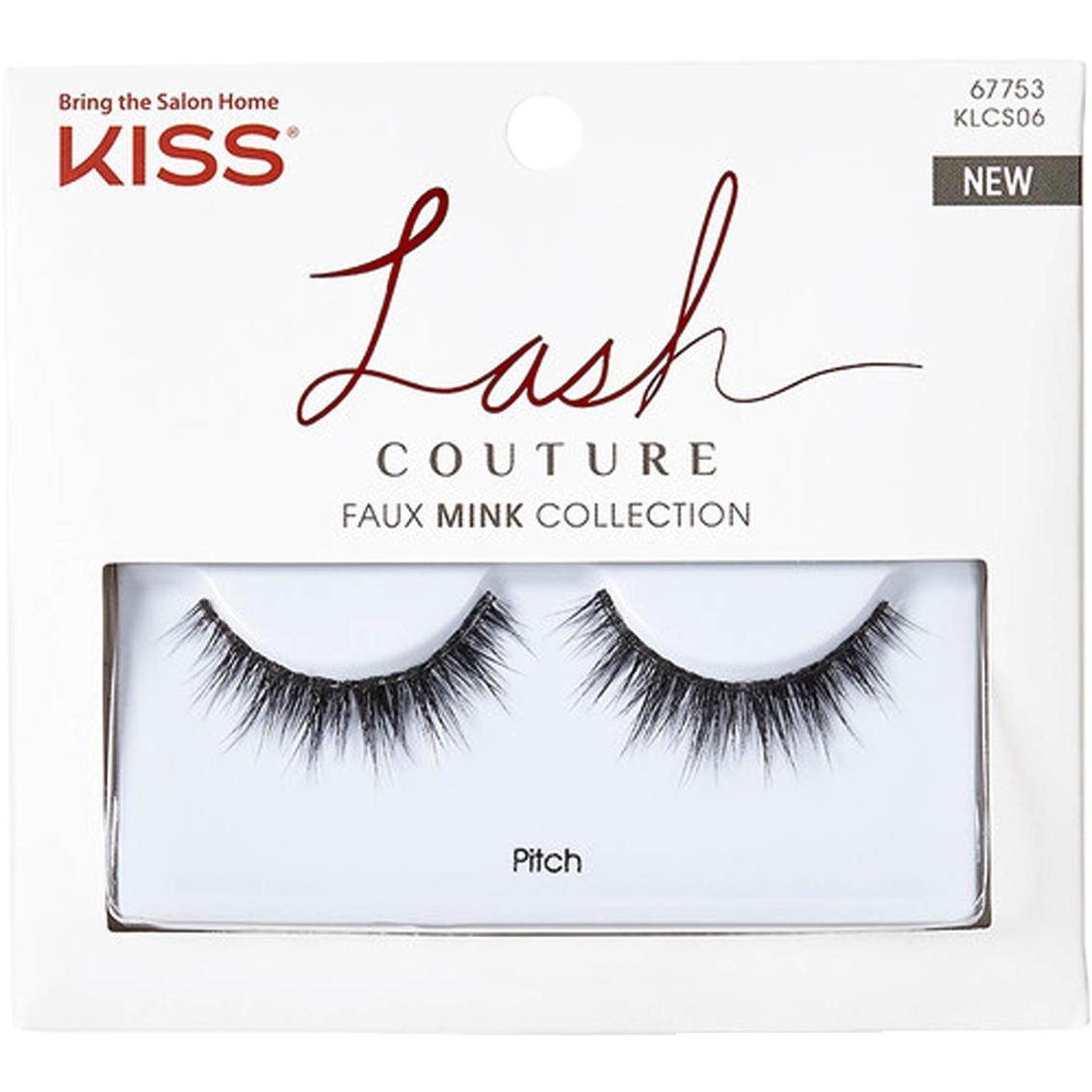4bd147aff42 Kiss Lash Couture Faux Mink Collection, Pitch   Lash Treatment ...