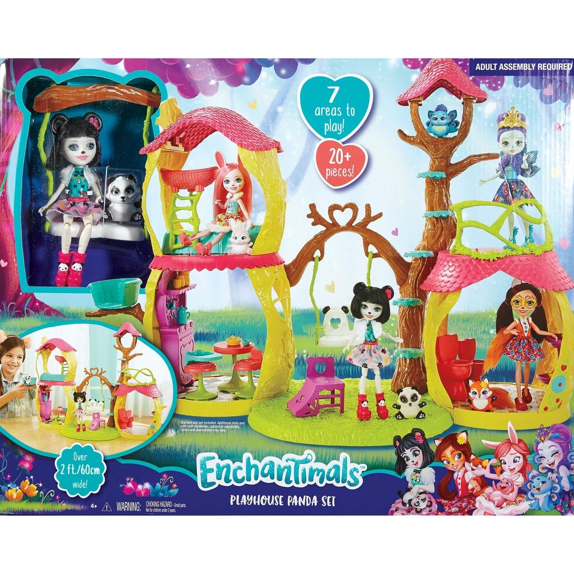 Mattel Enchantimals Playset Panda