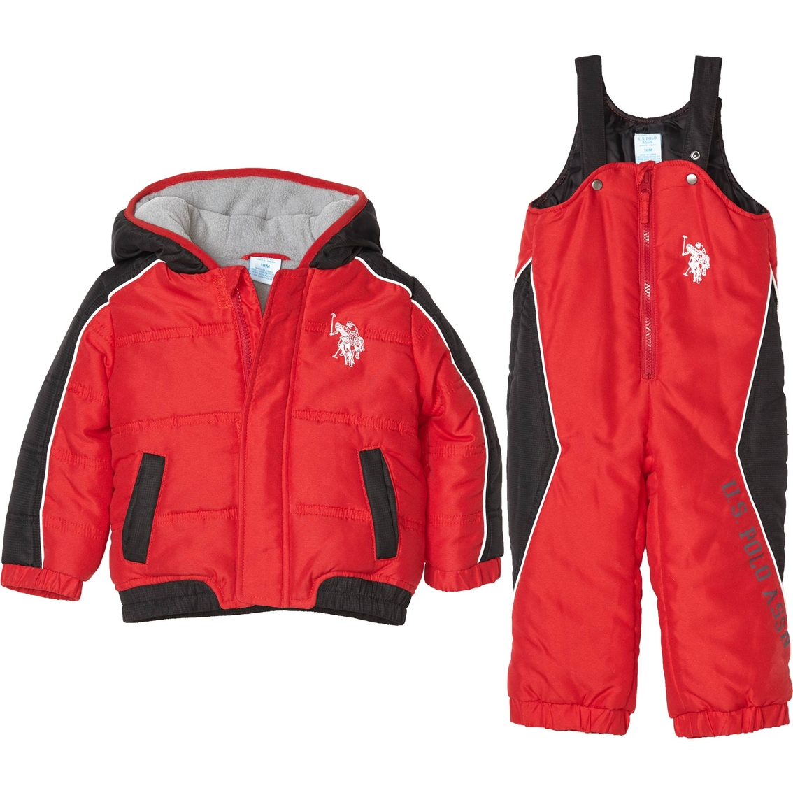 a118d616b844 U.s. Polo Assn. Toddler Boys 2 Pc. Snowsuit