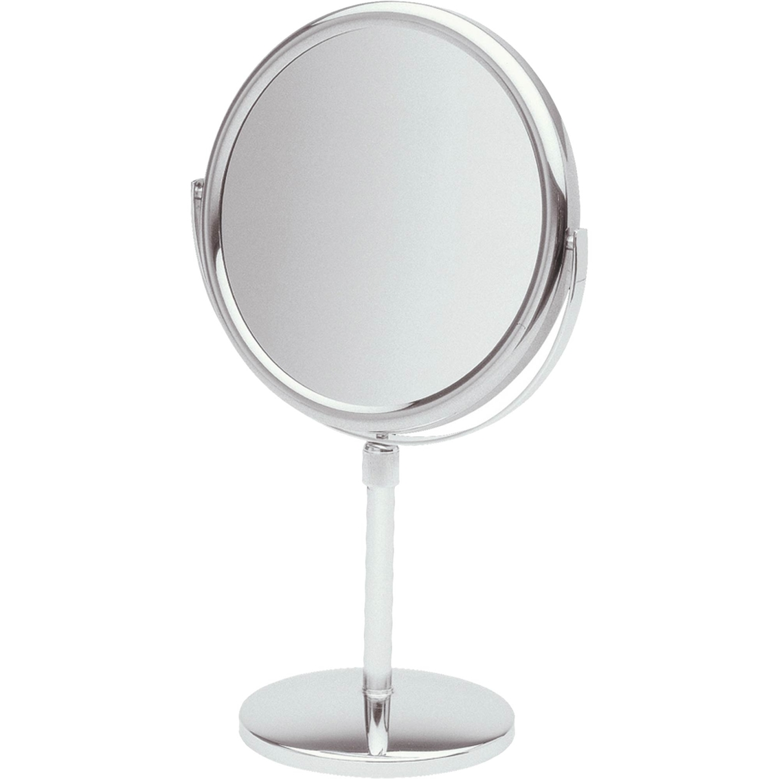 Jerdon Style 9 In Table Top Two Sided Stand Vanity Mirror Hair