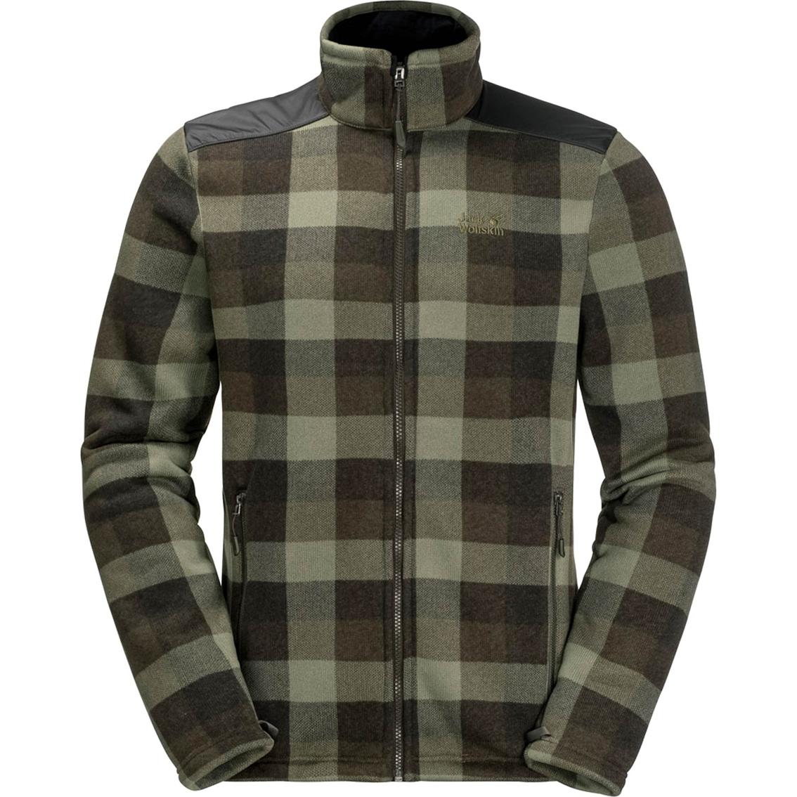 Jack Wolfskin Cabot Check Fleece Jacket | Jackets | Apparel