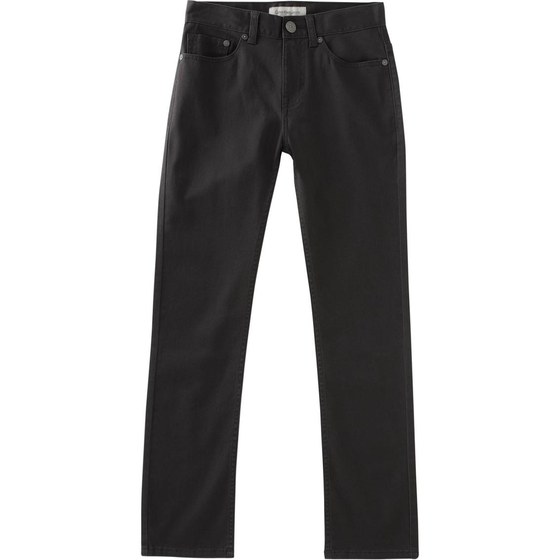2de3fe0a9436 Calvin Klein Boys 5 Pocket Stretch Pants
