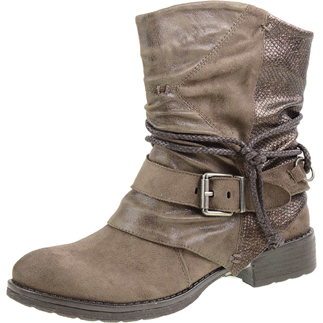 Dirty Laundry TTYL Short Engineer Boots