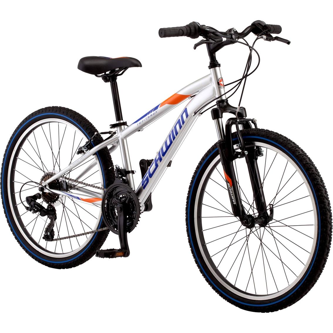 Schwinn Boys Hightimber 24 In  Atb Mountain Bike | Kids