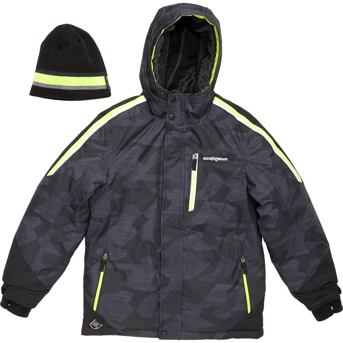 9b3e5fea0 Zero Xposur Boys Spear Snowboard Jacket