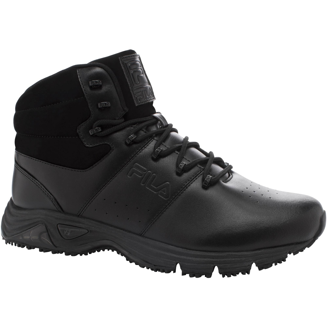 0ebe3a3c99 Fila Men's Memory Breach Slip Resistant Steel Toe Boots | Work ...