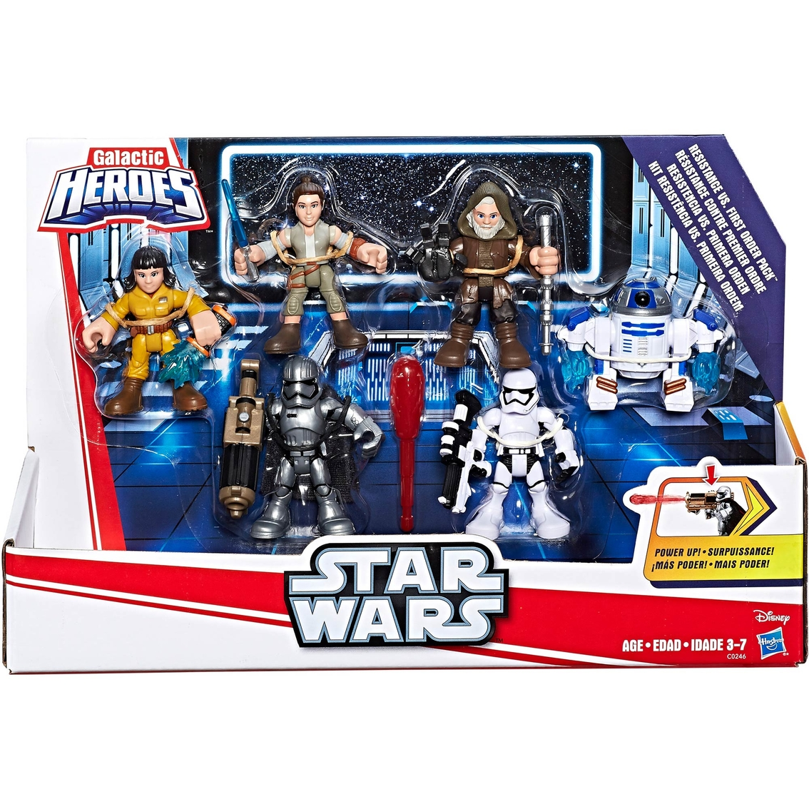 Mulit Kinds Playskool Star Wars Galactic Heroes Hasbro Action Figures to Select