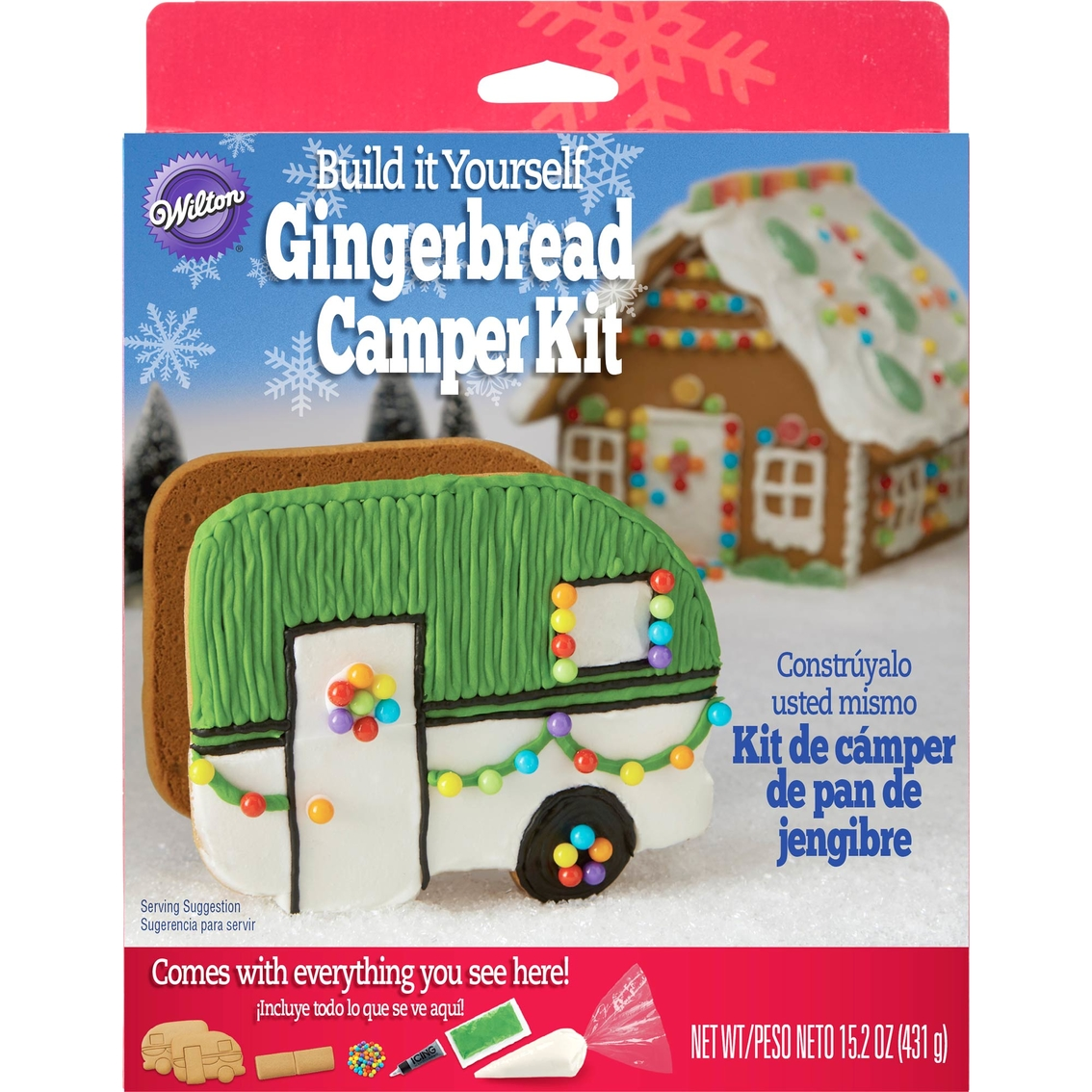 Build It Yourself Campers Build It Yourself Cabin Kits: Wilton Build It Yourself Gingerbread Camper Kit