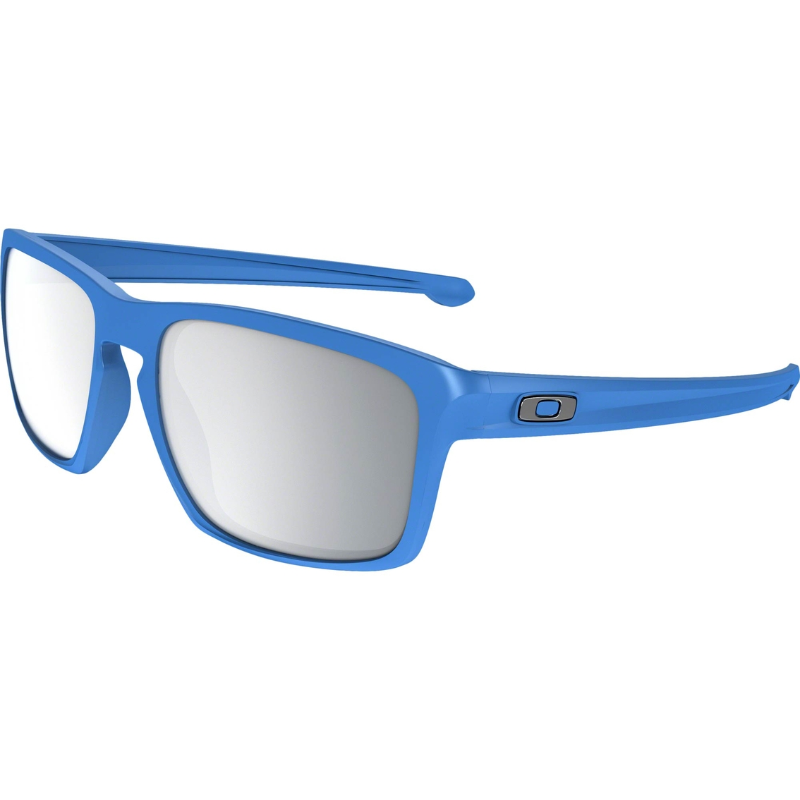 47eb80f232b Oakley Sliver O Matter Rectangle Chrome Iridium Sunglasses