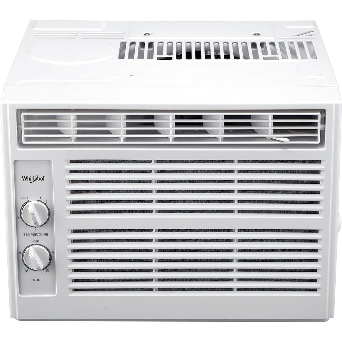 Whirlpool 5 000 btu window mounted air conditioner with for 12 x 19 window air conditioner