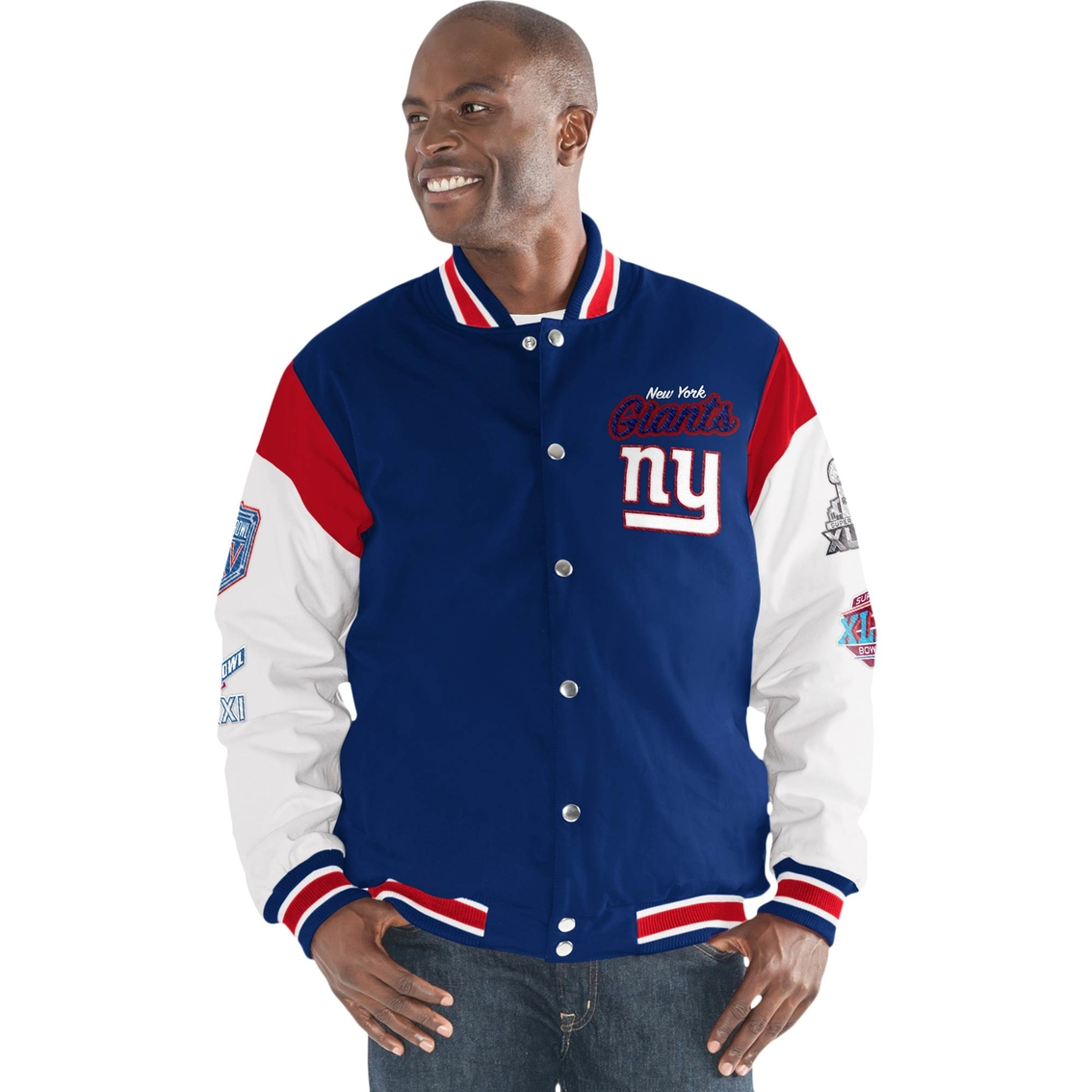 new arrival 409e8 f39f1 G-iii Sports Nfl New York Giants Team Elite Commemorative ...