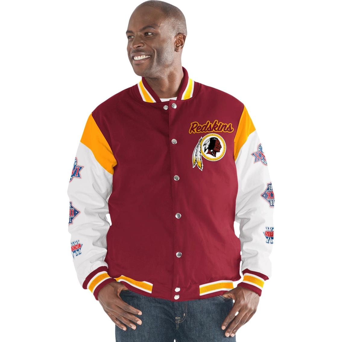 new style e4bac a18a4 G-iii Sports Nfl Washington Redskins Team Elite ...