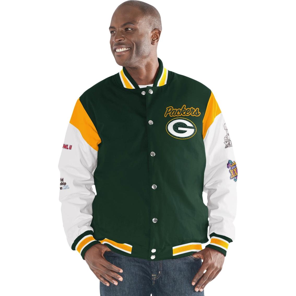 new product c647f b674c G-iii Sports Nfl Green Bay Packers Team Elite Commemorative ...