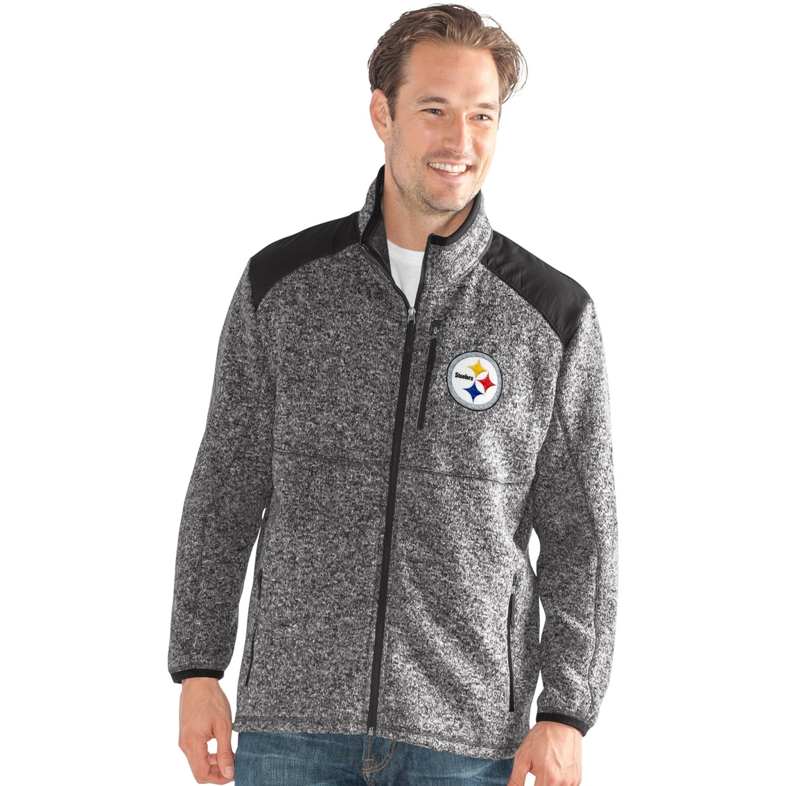 best loved 295c1 15c0c G-iii Sports Nfl Pittsburgh Steelers Team Back Country ...