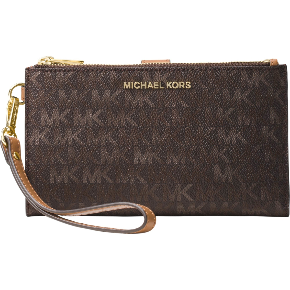 66f26646762175 Michael Kors Signature Double Zip Wristlet | Handbags | Shop The ...