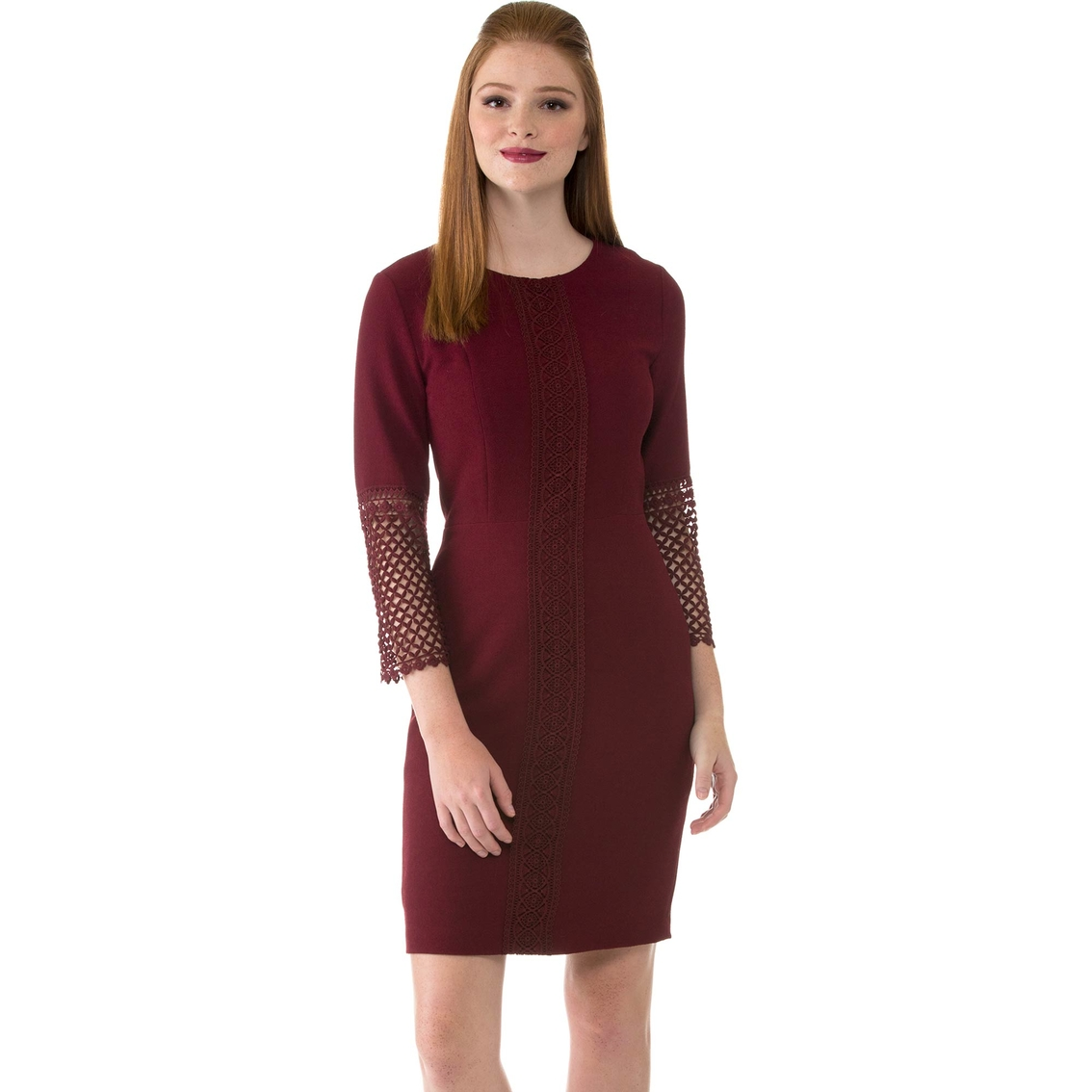 40d1440345f Karl Lagerfeld Paris Lace Bell Sleeve Dress