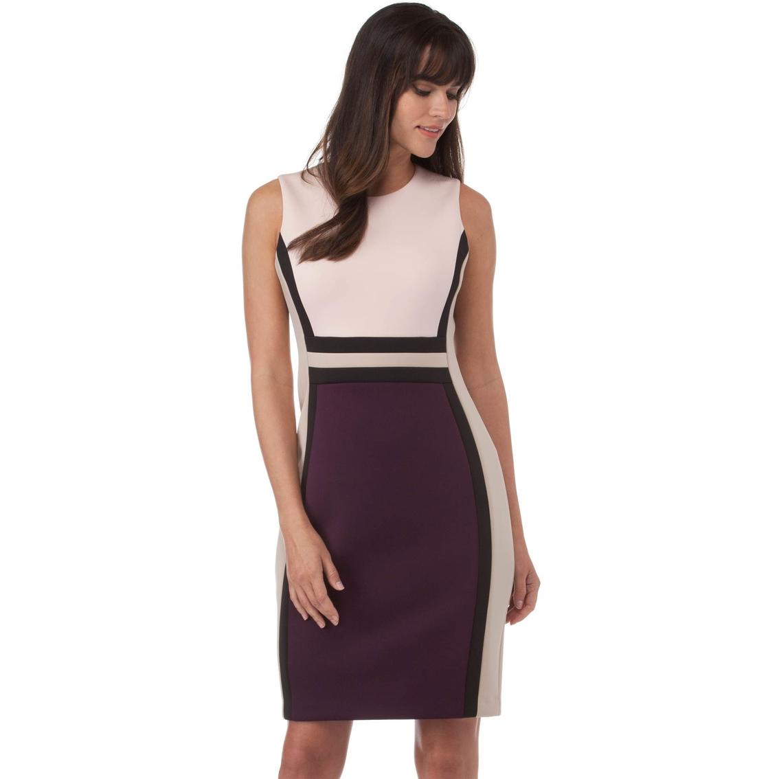 efb9c24ff331 Calvin Klein Color Block Dress