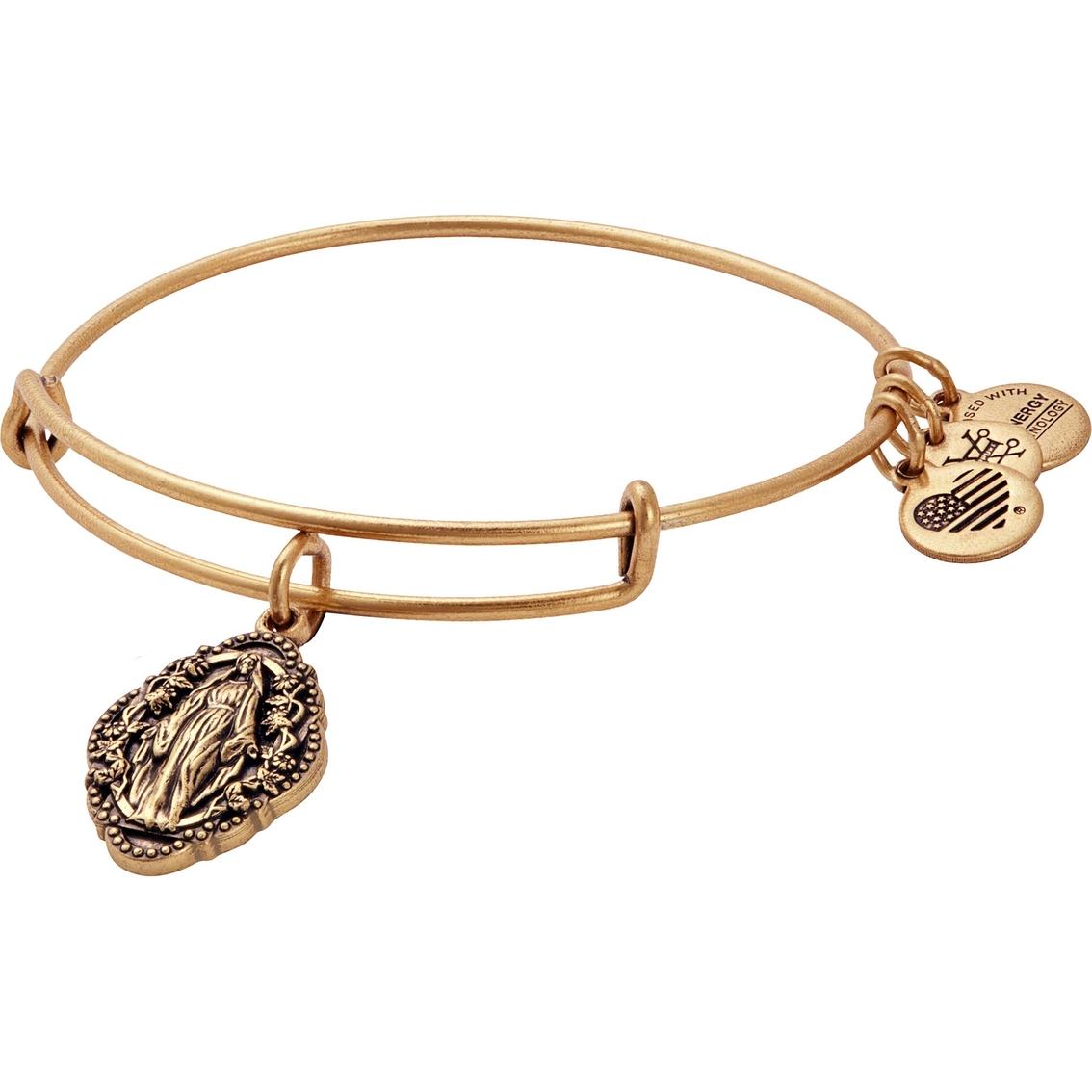Alex And Ani Mother Mary Charm Bangle Bracelet