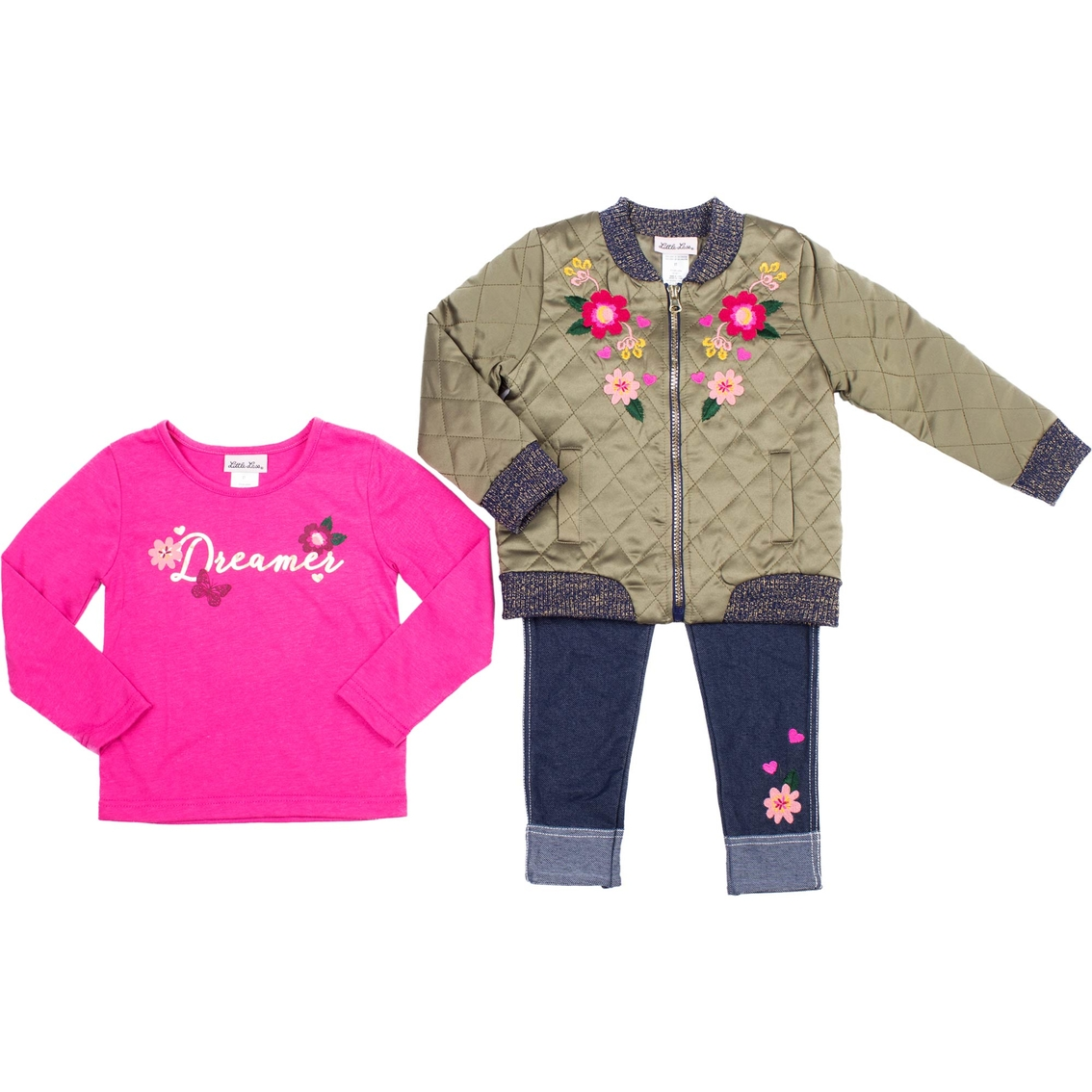 ee4b122eb698 Little Lass Infant Girls 3 Pc. Jacket Set