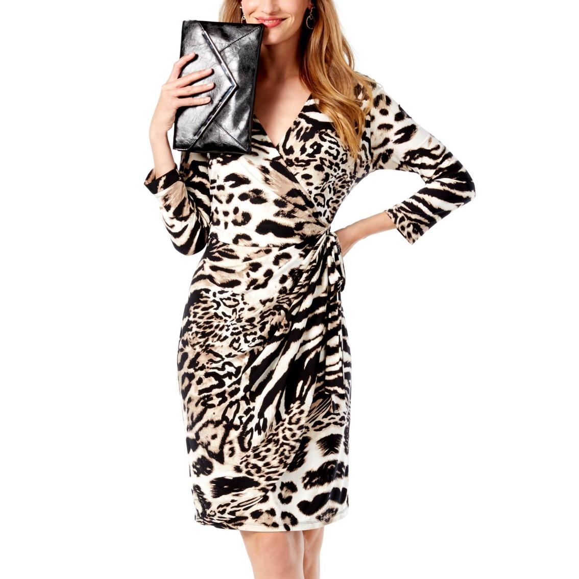 b51692b872b3f Inc International Concepts Petite Printed Wrap Dress | Dresses ...