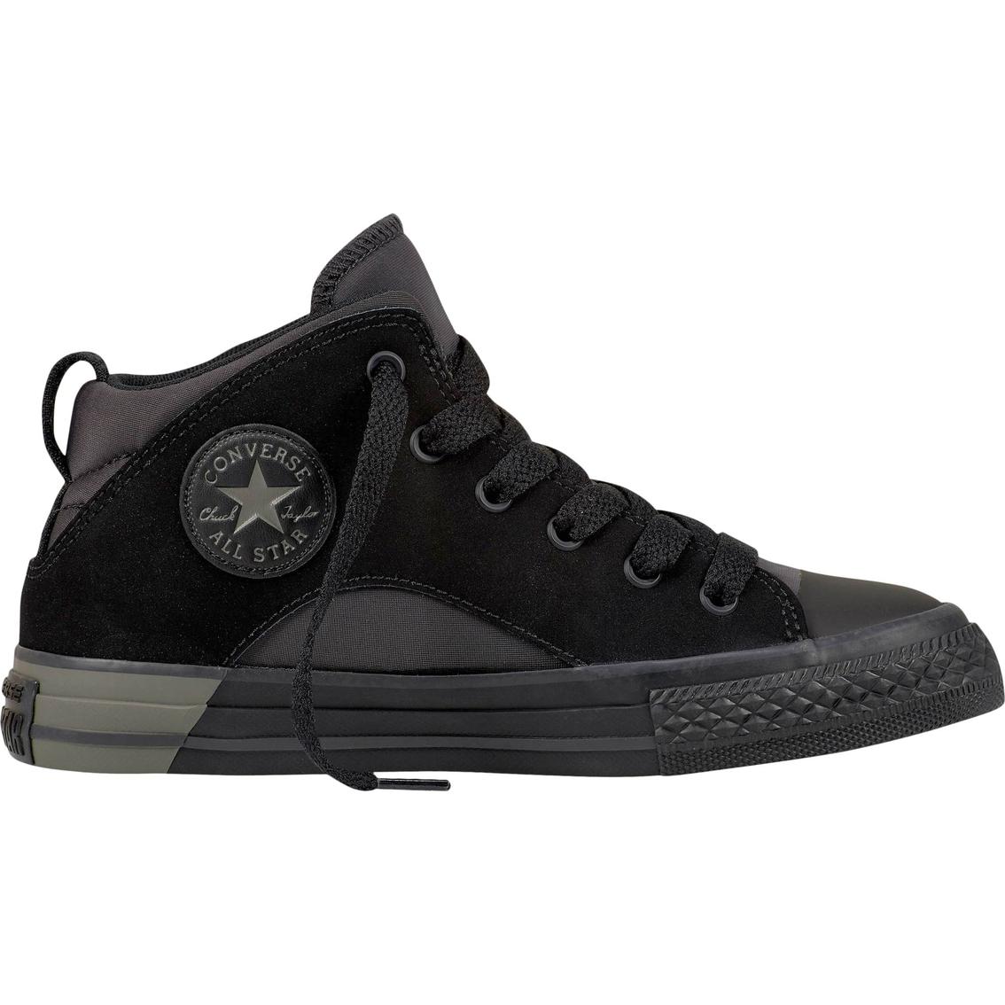 de542b95ba9a Converse Boys Chuck Taylor All Star Official Mid Top Sneakers ...