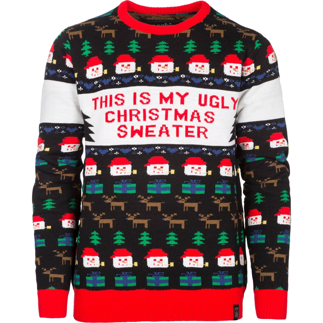 Machine Boys Ugly Christmas Sweater | Boys 8-20 | Apparel | Shop The ...