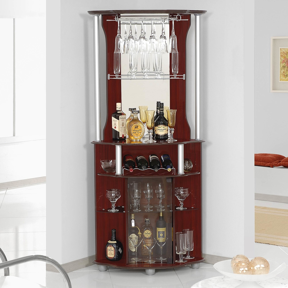 counter unit shelf fixed countertop corner ideas target hutch racks serving rac furniture mixing cabinet ikea wall and wine rack with for mounted bar a liquor buffet storage glasses