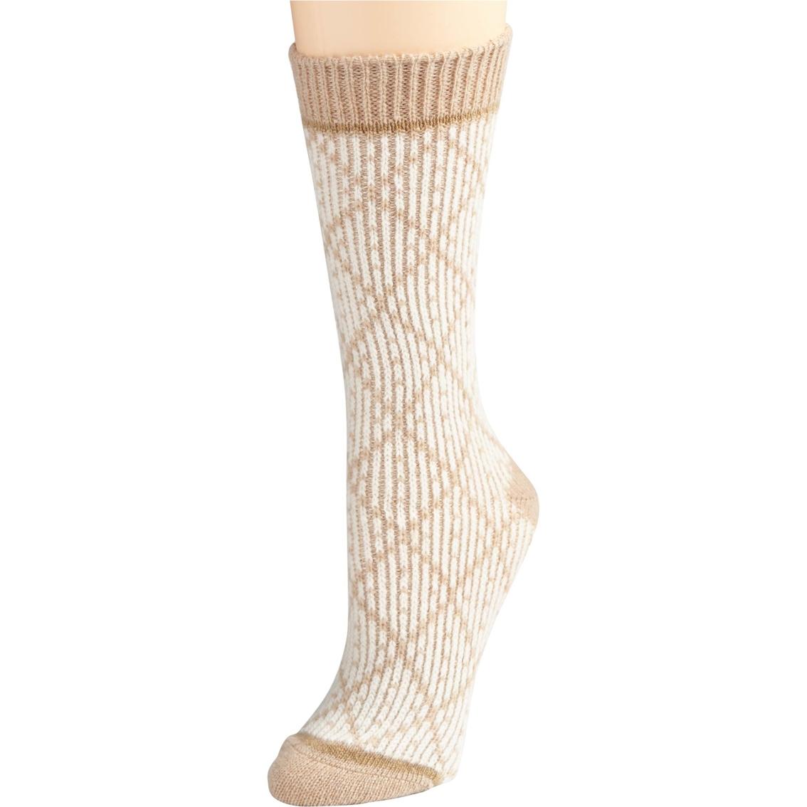 Sorel Diamond Pattern Wool Blend Crew Socks | Hosiery & Socks ...