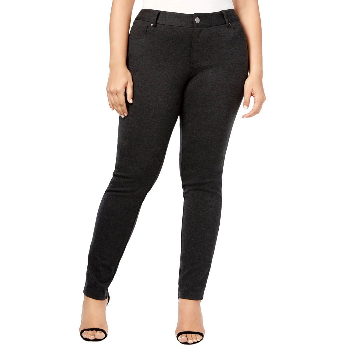 Inc International Concepts Plus Size Skinny Ponte Pants ...