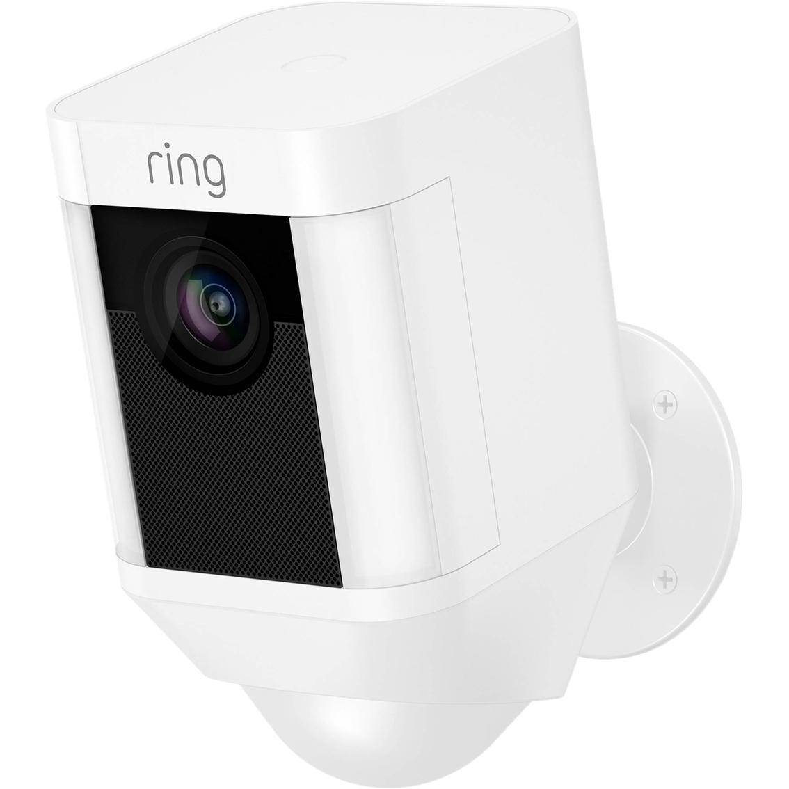 Ring Spotlight Battery Powered Camera Smart Home