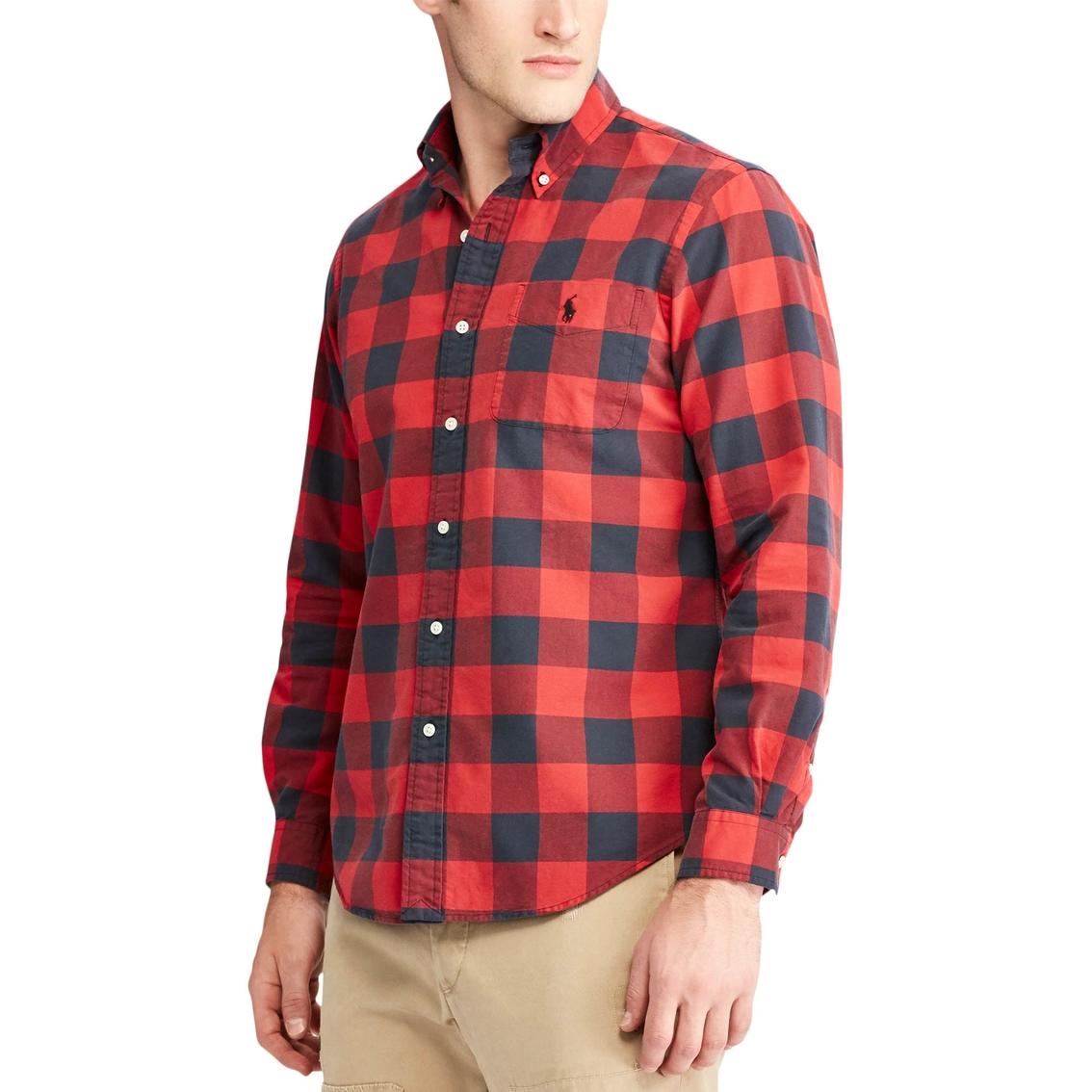 43c27a00d Polo Ralph Lauren The Iconic Plaid Oxford Shirt