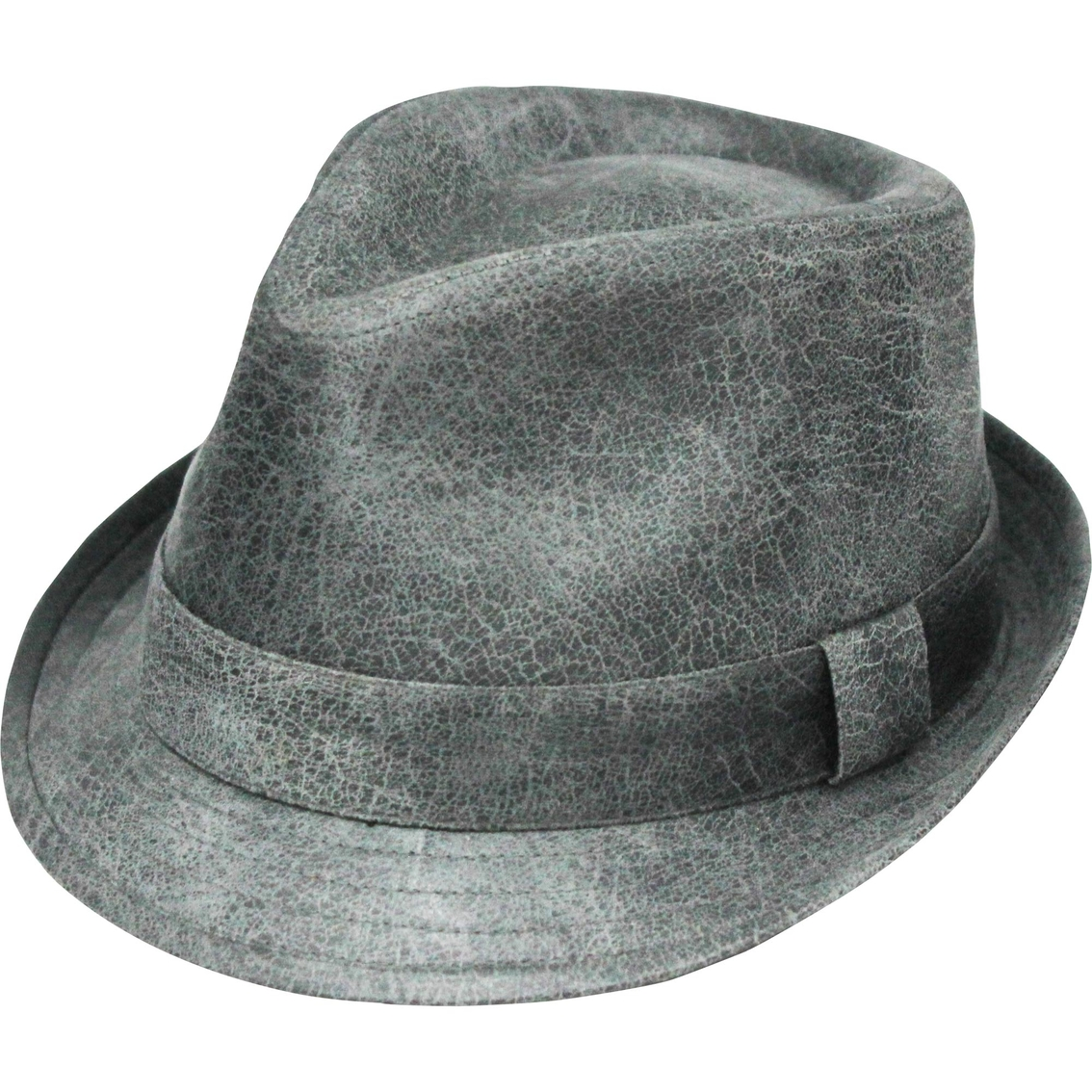 Henschel Hats Faux Leather Fedora  50afb04c17e