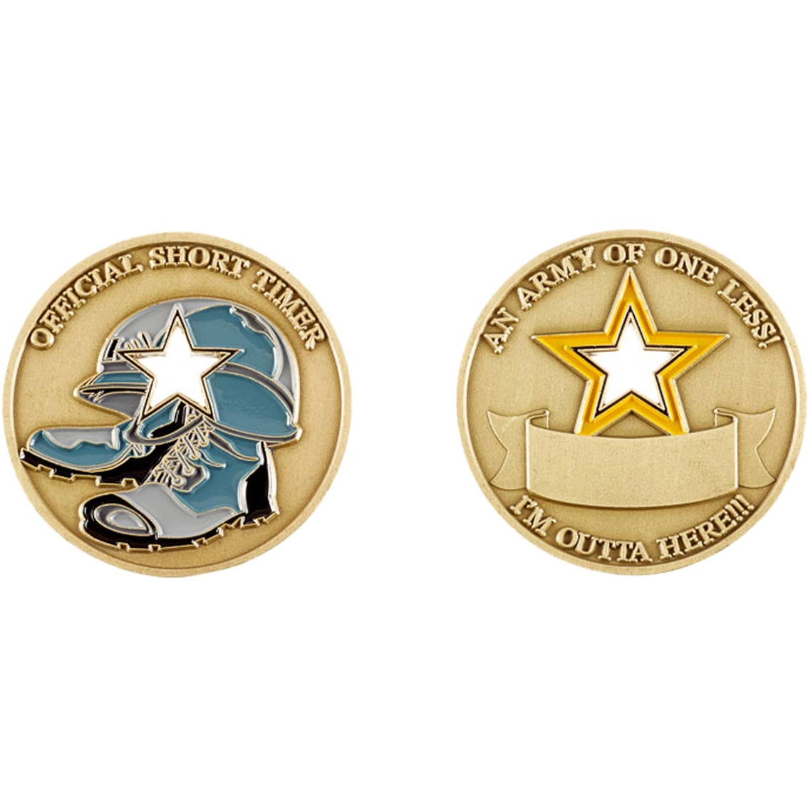 Challenge Coin An Army Of One Less! Coin | Coins & Cases | Gifts